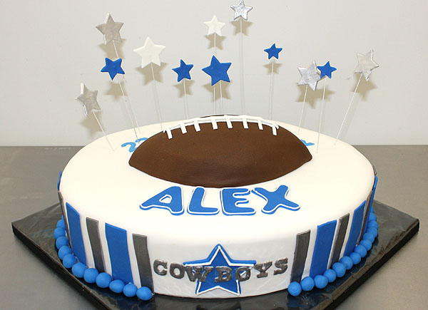 Dallas Cowboys Birthday Cake by CakeSuite serving Connecticut and