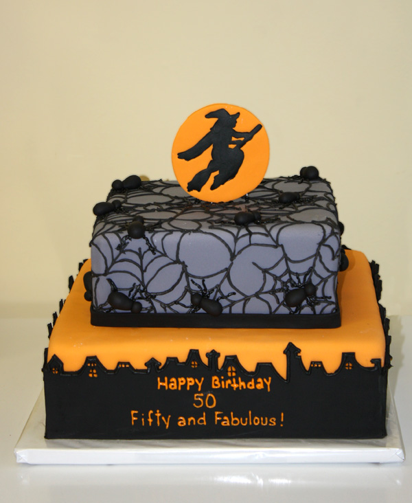 Halloween Birthday Cake By CakeSuite Serving Connecticut And New York