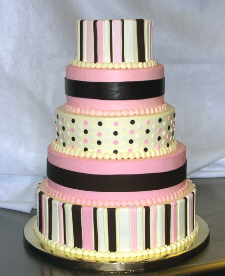 Ice Cream Shoppe Wedding Cake