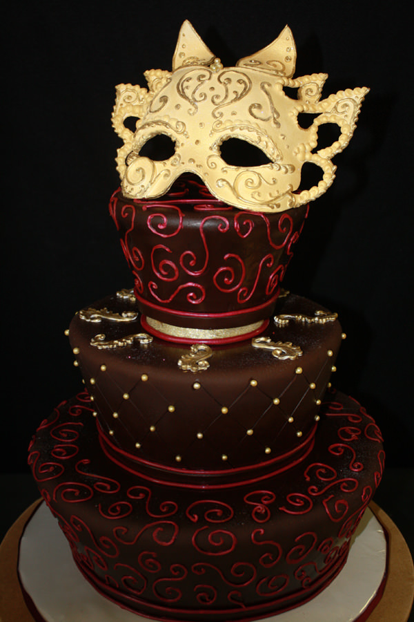 Image result for masquerade cake and drinks for adults