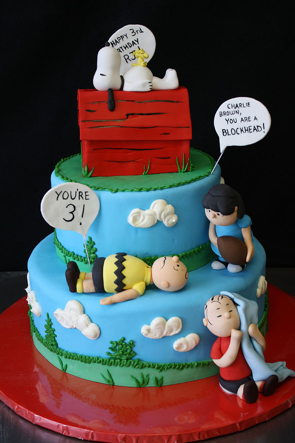 Peanuts Birthday Cake by CakeSuite, serving Connecticut ...