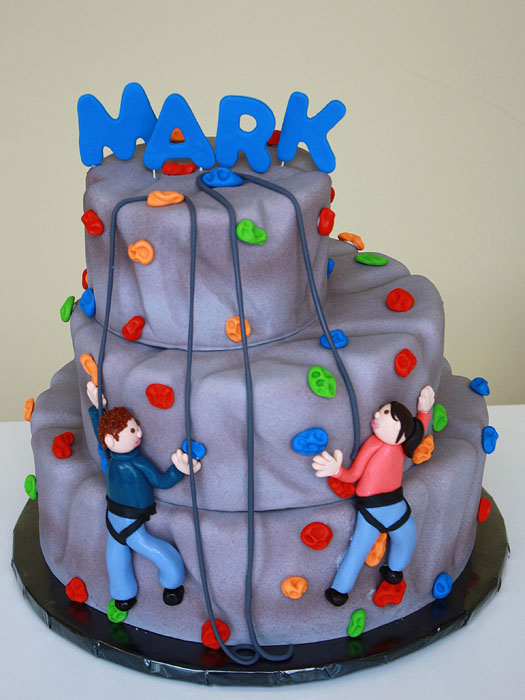 Rock Climbing Cake by CakeSuite, serving Connecticut and ...