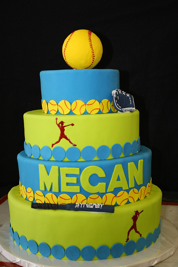 Softball Cake By Cakesuite Serving Connecticut And New York